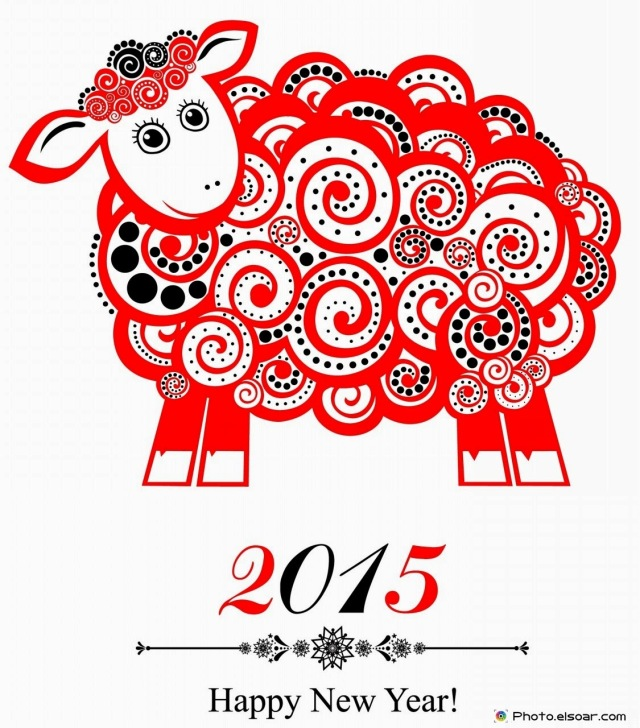 2015-new-year-card-with-red-sheep